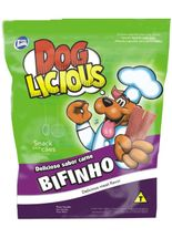 Petisco-Total-Dog-Licious-Bifinho-Sabor-Carne-e-Bacon-65g