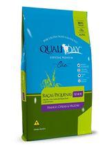 Racao-JVM-Qualiday-Premium-Caes-Senior-Racas-Pequenas-Sabor-Frango-Cereais-e-Vegetais---1kg