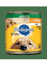 Racao-Pedigree-Vital-Pro-Pate-de-Frango-Lata-para-Caes-Adultos---280g