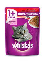 Racao-Whiskas-Sache-Jelly-Sabor-Carne-para-Gatos-Adultos---85gr