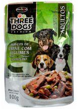 Three-Dogs-Adulto-Pedacos-de-Carne-com-Legumes-ao-Molho---100g-_-Sache-Hercosul