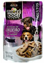Three-Dogs-Adultos-Pedacos-de-Cordeiro-ao-Molho---100g-Sache-Hercosul