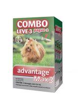 Combo-Bayer-Advantage-Max3-para-Caes-P-Ate-4-kg