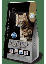 Racao-Farmina-Matisse-Feline-Formula-para-Gatos-Adultos-Castrados-Sabor-Frango--