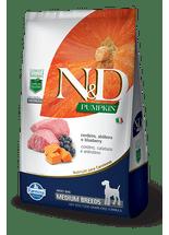 Racao-Farmina-N-D-Canine-Medium-Cordeiro-Abobora-e-Blueberry-para-Caes-Adultos-de-Racas-Medias--
