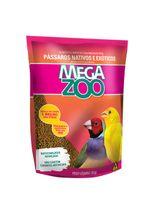 Alimento-Mega-Zoo-Mix-Exigente-para-Aves-Nativas-e-Exoticas-em-Manutencao