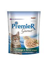 Racao-Umida-Premier-Pet-Gourmet-Sache-Frango-para-Gatos-Adultos-