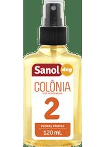Colonia-Sanol-Dog-Floral-Frutal-Nº2-para-Caes-e-Gatos