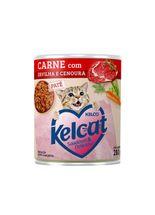 racao-umida-kelco-kelcat-sabor-carne-com-ervilha-e-cenoura-para-gatos-adultos