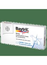 Baytril-Flavour-Caes-e-Gatos-50mg-–-10-comprimidos-Antibiotico-Bayer