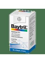 Baytril Injetável Cães e Gatos 5% - 10ml   Antibiótico Bayer d1b0339cdc9bd