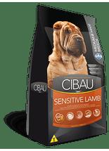 Racao-Farmina-Cibau-Sensitive-Lamb-Medium---Maxi-Breeds-para-Caes-Adultos---12Kg