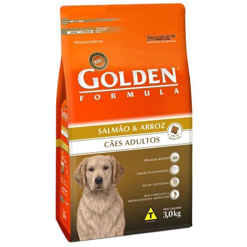 Racao-Golden-Caes-Adultos-Formula-Salmao---Arroz---3Kg-_-Premier-Pet