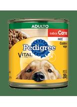 Racao-Pedigree-Vital-Pro-Pate-de-Carne-Lata-para-Caes-Adultos---280g