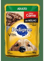 Racao-Pedigree-Vital-Pro-Sache-Carne-ao-Molho-para-Caes-Adultos---100g