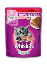 Racao-Whiskas-Sache-Jelly-Sabor-Carne-para-Gatos-Filhotes---85gr