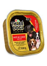 Pate-Hercosul-Three-Dogs-Adultos-Carne---300gr