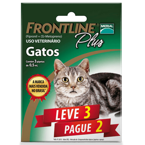 Antipulgas-e-Carrapatos-Merial-Frontline-Plus-Leve-3-Pague-2-para-Gatos