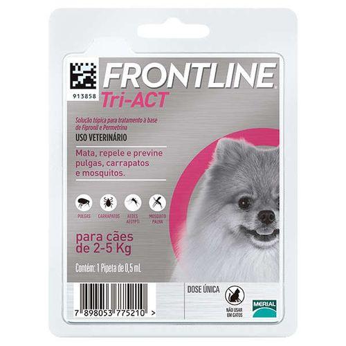 Antipulgas-e-Carrapatos-Frontline-TriACT-para-Caes-de-2-a-5kg