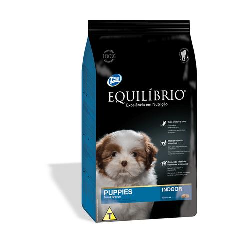 Racao-Super-Premium-Total-Equilibrio-Puppies-Small-Breeds-para-Caes-Filhotes-de-Racas-Pequenas--