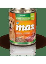 Racao-Umida-Premium-Total-Max-Pate-Carne-e-Vegetais-para-Caes-Adultos--