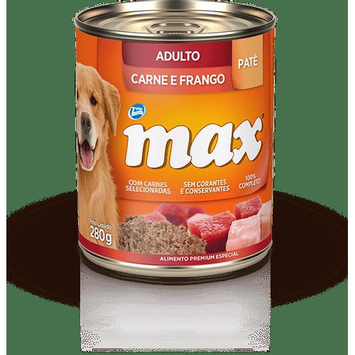 Racao-Umida-Premium-Total-Max-Pate-Carne-e-Frango-para-Caes-Adultos--