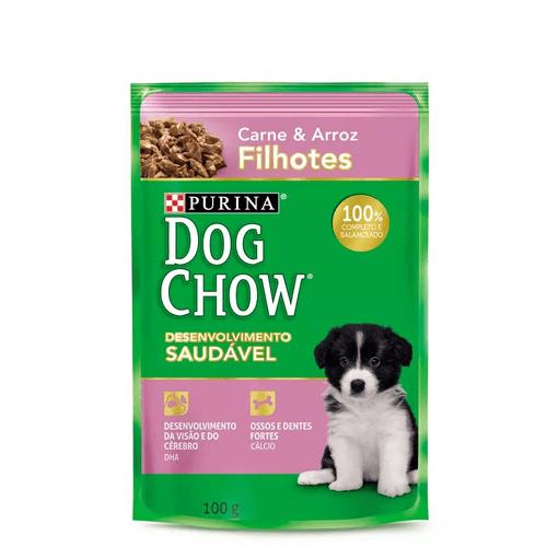Racao-Umida-Purina-Dog-Chow-Carne-e-Arroz-para-Caes-Filhotes-de-Racas-Pequenas----