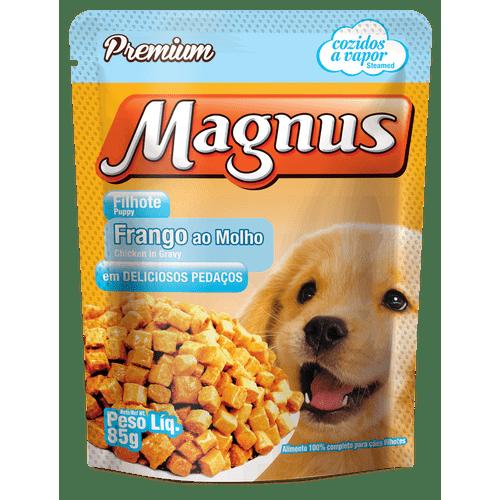 Sache-Magnus-Premium-Frango-ao-Molho-para-Caes-Filhotes---