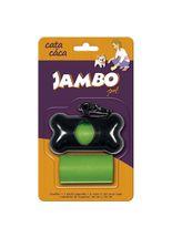 Kit-Saquinho-Jambo-Pet-Cata-Caca-Verde---2-Unidades