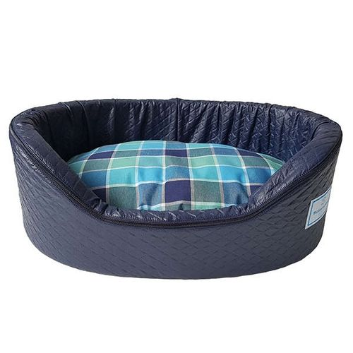 Cama-Pickorruchos-New-Sleepy-Azul-para-Caes