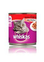 Racao-Umida-Whiskas-Pate-de-Carne-ao-Molho-para-Gatos----