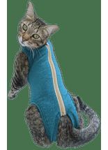 roupa-pos-cirurgica-pet-med-dry-para-gatos--verde
