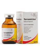 Antimicrobiano-Zoetis-Terramicina-Injetavel-para-Bovinos-Suinos-Ovinos-Caprinos-Aves-Caes-Gatos-e-Coelhos