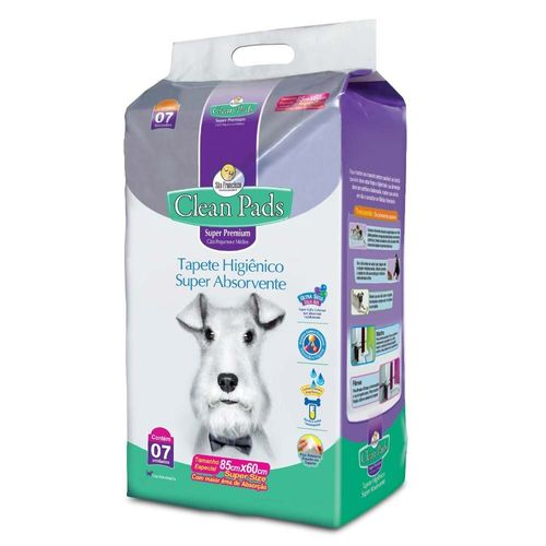 tapete-higienico-clean-pads-7-unidades