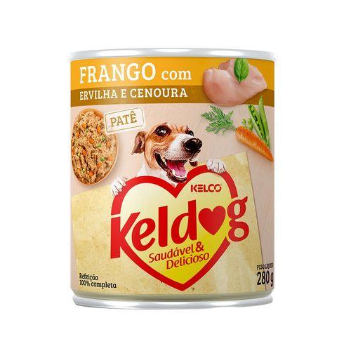 racao-umida-kelco-keldog-sabor-frango-com-ervilha-e-cenoura-para-caes-adultos