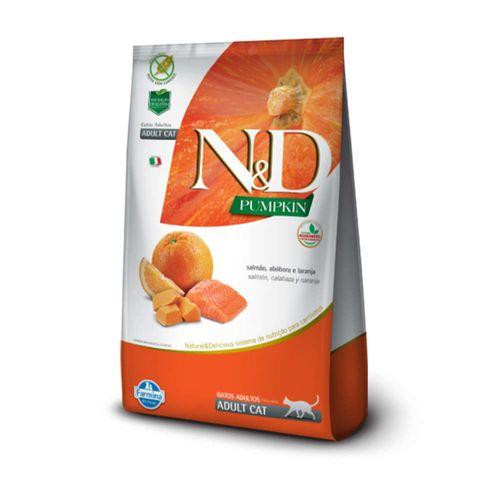 racao-farmina-nd-pumpkin-sabor-salmao-abobora-e-laranja-para-gatos-adultos