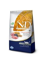 racao-farmina-nd-low-ancestral-grain-kitten-sabor-cordeiro-e-blueberry-para-gatos-adultos