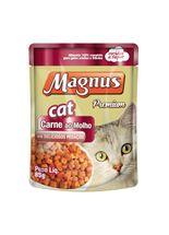 racao-umida-magnus-sabor-carne-ao-molho-leve-12-pague-10-para-gatos-adultos