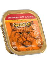 racao-umida-special-cat-pate-de-carne-para-gatos-adultos-castrados